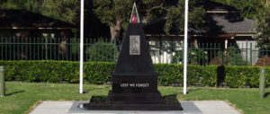 Ingleburn RSL Sub Branch | Lest We Forget | Obelisk